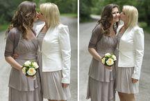 lesbian wedding fotos