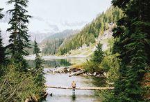 travel / travel, mountain, lake, Greece, France, trees