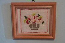 Punto croce / Vaso di fiori