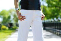 Pantalón pirata alto