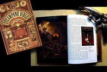 Jeff VanderMeer - Biblia SteamPunk / El autor de esta hermosa obra (considerada por muchos) es Jeff Vandermeer y S.J Chambers, aunque a este último no se le da tanta importancia debido a que Jeff fue quien llevo la delantera a lo largo de la creación de dicha obra, de allí que el nombre de Jeff Vandermeer aparezca más grande en la portada.