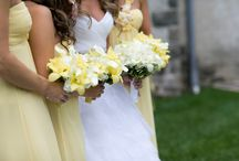 Pale Yellow and White Inspiration / Looking for a very soft, spring look for your wedding?! Take a look at this wedding featuring a pale yellow and white theme.