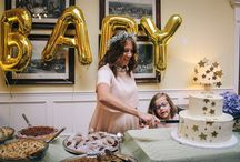 White and Gold Twinkle Little Star Baby Shower Inspiration