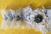 bridal garters + accessories / by Lauren Rusten