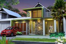 custom 1 ijen nirwana residence malang / rumah tinggal