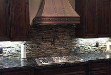 Installed Copper Range Hoods / Installed Copper Range Hoods by World CopperSmith.