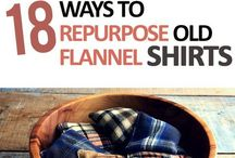 Flannel shirt projects