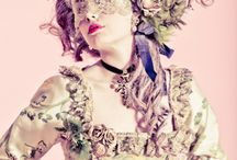 period costume photoshoots / Moodboard for costume photoshoot inspired with Marie Antoinette portraits