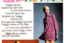 Hollywood 60's Twiggy