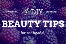 DIY Beauty / Our favorite DIY beauty tricks for redheads! #DIY #DIYBeauty  / by How To Be A Redhead
