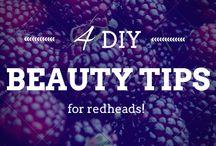 DIY Beauty / Our favorite DIY beauty tricks for redheads! #DIY #DIYBeauty