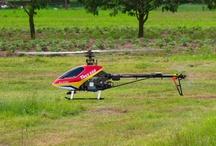 Helikopter T-REX 500 / Heli Open Day 2013