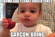 Strawbaby / A former CSPI staffer sent us these pictures of her baby experiencing fruit for the first time.