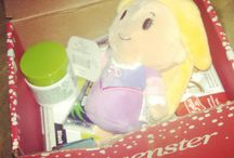 @Hallmark #ittybittys / Making a board for the @Hallmark #ittybittys I received from @Influenster!