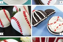 Baseball party / Everything needed for a baseball party