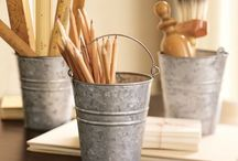 So many uses for BUCKETS! / by Jenny Levering