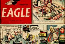 Dan Dare EAGLE Comic Frank Hampson Frank Bellamy / Eagle was a seminal British children's comic, first published from 1950 to 1969. It was founded by Marcus Morris, an Anglican vicar from Lancashire. Dan Dare Artists EXTRAORDINAIRE, FRANK HAMPSON & FRANK BELLAMY.