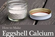 Egg shell calcium