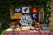 Mesa dulce juego de tronos