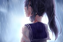 "●Yandere Simulator● / Hehe... Ayano ! - she will kill you ! X""D  Ayano: Please notice me Senpai !!!!   Senpai: NO ^^   Ayano is killing everyone !! X'D"