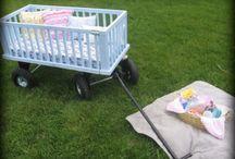 Repurpose Baby Cribs