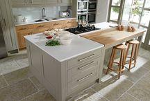 Modern Kitchen Island / Cucina moderna con isola / Modern konyhasziget