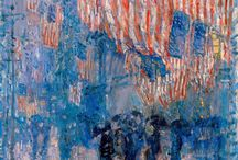 Artistic Patriotism / Art depicting pride in a country through its flag or other symbols, most notably; America. / by Marie Wise