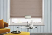 Roman Blinds / Roman blinds combine the beauty of fabric window treatments with the easy operation of a blind.