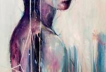 Art / Tegninger/maleri/prints til inspirasjon Artwork I love