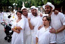 """White Party 2015 / picnic promosso da """"Andare oltre si può"""" - 06.06.2015 Piazza Napoleone, Lucca"""