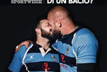 Chi ha paura di un bacio? / Libera Rugby Club e Althea Sughi conquistano la prima pagina di Sport Week! http://www.sughialthea.it/libera-tutti.php #liberatutti #LoveWins #LoveIsLove #pauradiunbacio