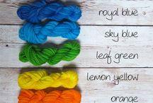 Crochet - Dyeing Yarn