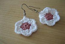 Crochet ear rings