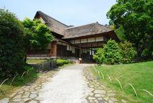 traditional Japanese house 日本の古い建物