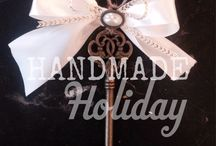 Handmade Holiday / Collection of rustic & refined handmade Christmas decor available at Plume (111 North Street Asheboro, NC) or online at www.plumeretail.com