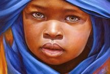 Children of Africa - Black children Portraits of Innocence is a collection inspired by children.