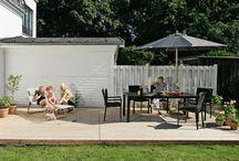 Terrasse | Terrace / Find inspiration til hvordan du bedst vedligeholder din terrasse, hvordan du gør den hyggelig og hvordan du selv kan bygge din egen terrasse. Læs også om solafskærmning på terrassen.