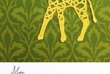 Giraffe (crochet/knit) / Giraffe's