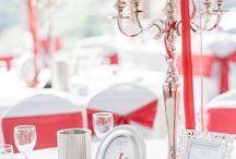 Hochzeit Bordeauxrot