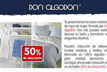 PROMOCIÓN CARREFOUR DESDE EL 01/08 HASTA 31/09 / Empezamos promoción en Carrefour España de Don Algodón. Artículos de baño, ropa de cama, y modelos de la linea infantil, juvenil y de adulto estarán disponibles desde el 01/082016 hasta 31/10/2016 en los establecimientos de Carrefour. ¡Consíguelo con un -50% de descuento! ¿Cómo? Por cada 10€ de compra recibirás 1 PUNTO. Reúne 5 PUNTOS y podrás llevarte cualquiera de los artículos al -50%. ¡HAZTE CON LA CARTILLA DE PUNTOS Y RENUEVA TUS TEXTILES DEL HOGAR!