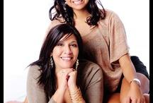 mother daughter studio photos