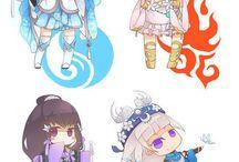 desenhos estilo anime