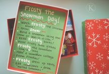 Frosty the Snowman Day
