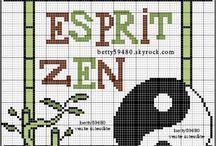 Cross Stitch - Zen