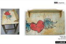 For the Home / hand painted furniture