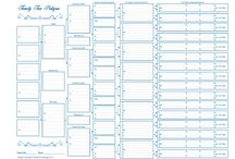 FAMILY TREE ~ Charts & Forms / Charts & Forms to use in Genealogy.