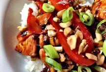 Low Calorie Asian Food / My own low calorie asian recipies