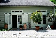 Finished garage ideas / by Audrey Brown
