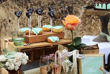 Candybars und Sweet Table