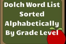 K sight words / by Laura Brock